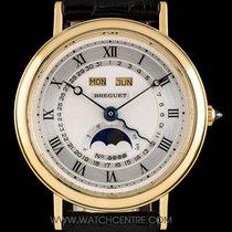 Breguet 18k Gold Serpentine Triple Date Calendar Moonphase 3040