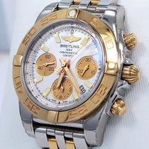 Breitling Chronomat Cb0140 41mm Chrono 18k Rose Gold &...