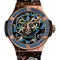 Hublot 343.PS.6599.NR.1201 Big Bang Broderie Sugar Skull Mens...