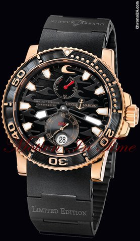 Ulysse Nardin BLACK SURF LIMITED EDITION MENS 500 PCS