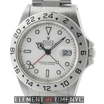 Rolex Explorer II Stainless Steel White Dial 40mm  Ref. 16570
