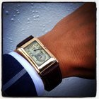 Rolex Prince Gold Brancard Jump Hour