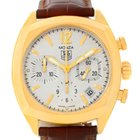 TAG Heuer Monza Chronograph 18k Yellow Gold Watch Cr514a.fc8145