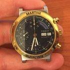 Tissot martini racing 40 automatic chronograph Oro acciaio Gold