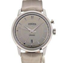 Vulcain 50s Presidents' Watch 42 Sandstone Guilloche