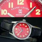 Favre-Leuba Geneve Sea King Winding Steel Unisex Watch