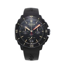 Alpina Seastrong Collection Diver 300 Chrono Quartz AL-372LBBG...