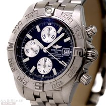 Breitling Chrono Galactic Automatic Ref-A13364 Stainless Steel...