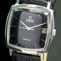 Omega DeVille Automatic Quick Set Date Steel Mens Watch