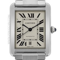 Cartier stainless steel XL Tank Solo