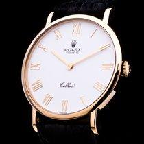 Rolex Cellini 18Kt. Gold Herrenuhr Handaufzug Full Set