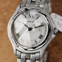 Cartier Swiss Made Panthere Ronde 32mm Stainless Steel Mens...