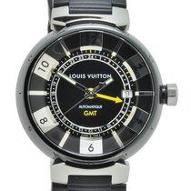 Louis Vuitton Tambour GMT Automatic Watch Q113KO