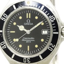 Omega Polished Omega Seamaster Professional 200m Quartz Mens...