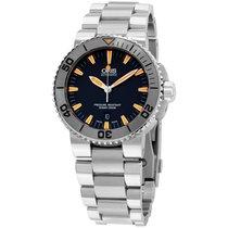 Oris Aquis Grey Dial Stainless Steel Men's Watch 733765341...