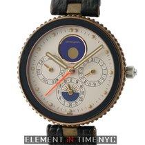Gérald Genta Gefica Moonphase Day-Date Alarm 36mm