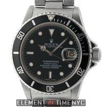 Rolex Submariner Stainless Steel Black Dial Circa 1980 Ref. 16800