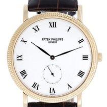 Patek Philippe Calatrava Men's 18k Yellow Gold Watch 3919