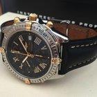 Breitling Crosswind Gold Steel Black Roman Dial 43 mm (2004)