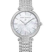 Harry Winston Premier Ladies 39mm Quartz White Gold Diamonds
