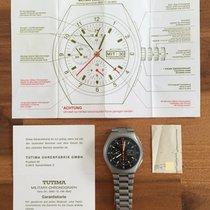 チュチマ (Tutima) Military ChronographFull SetEXTR.SELTENUSArmy...