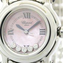 Chopard Polished Chopard Happy Sport Diamond Quartz Ladies...