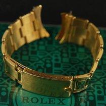Rolex 7205 Oyster rivit bracelet 18K gold 6263 6265