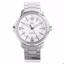 IWC IW329004 Aquatimer Automatic 42mm Silver Dial Steel Bracelet