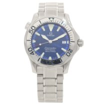 Omega Seamaster 2263.80.00 - Midsize Watch - Blue Dial - 1998