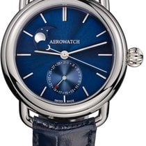 Aerowatch 1942 PHASES DE LUNE - 100 % NEW - FREE SHIPPING