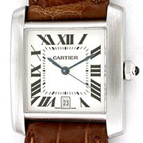 """Cartier """"Tank Francaise"""" Strapwatch"""