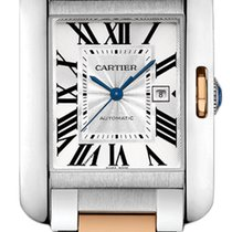 Cartier Tank Anglaise Automatic Date Mid-Size watch W5310037