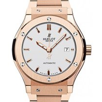 Hublot Classic Fusion King Gold Bracelet Opalin 42mm