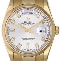 Rolex Day-Date President Men's 18k Diamond Watch 118208