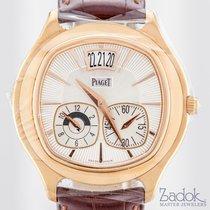 Piaget Emperador 18k Rose Gold Dual Time-Zone 42mm Men's...