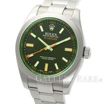 ロレックス (Rolex) Milgauss Green Sapphire Anti-Magnetic Stainless...