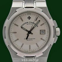 Vacheron Constantin Overseas 72040 Stainless Steel 37mm White...