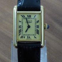 Cartier Must Tank Vermeil kleines Modell revisioniert