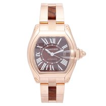 Cartier Roadster 18k Rose Gold Extra Large Men's Watch...