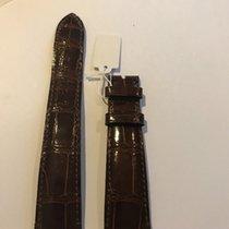 百達翡麗 (Patek Philippe) 20mm x 16mm brown crocodile strap (padded)