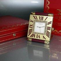 "Cartier Weckeruhr ""Carré Obus-Alarm Clock"" roter..."