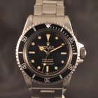 Rolex SUBMARINER 5512 GILT 4 LINES POINTED GUARD