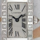 Cartier 2544 Tank Americaine Small, White Gold