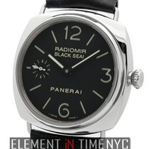 Panerai Radiomir Collection Stainless Steel Exhibition Back...