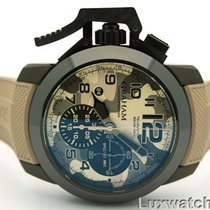 Graham Chronofighter Oversize Black Arrow Farenheit 2CCAU.E03A