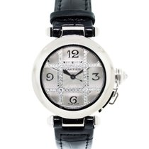 Cartier 2529 18K  Gold Pasha Diamond Grill Watch