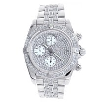 Breitling Chronomat Evolution with 5.75ct. of Diamonds A13356