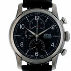 Oris Raid 2013 Stahl Automatik Chronograph Armband Leder...