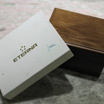 Eterna vintage wooden watch box very rare