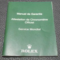Rolex 563.81 GUARANTEE / SERVICE BOOKLET IN 16 LANGUAGES